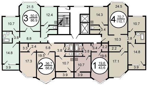 Перепланировка и переоборудование квартиры