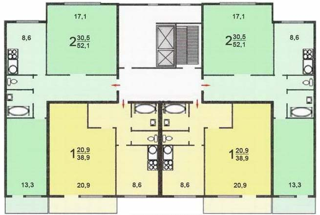 Real estate - лот 3753: зеленоград, корп. 933.